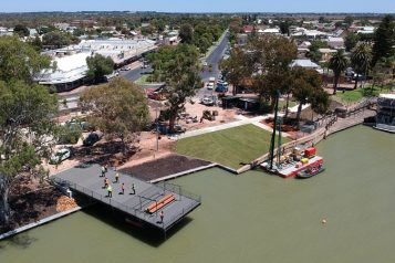 Renmark Waterfront Park Observation Deck